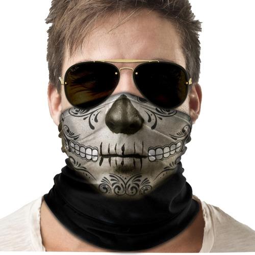 bandana mascara caveira mexicana moto ciclismo proteção 03