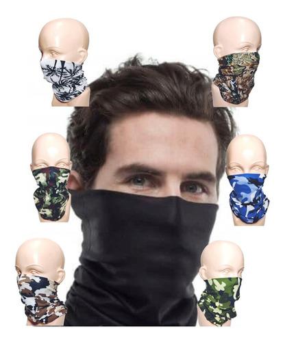 bandana mascara mayoreo 5 pzs motociclista tactico bikers