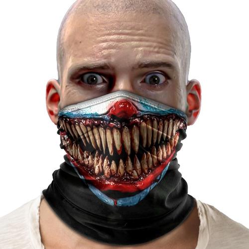bandana mascara palhaço it lenço moto ciclismo proteção 01