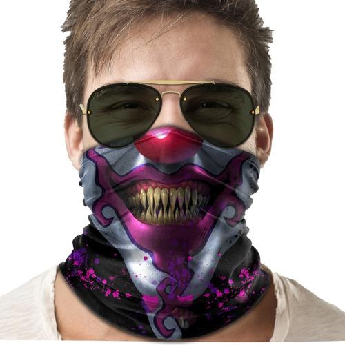 bandana mascara palhaço it lenço moto ciclismo proteção 02