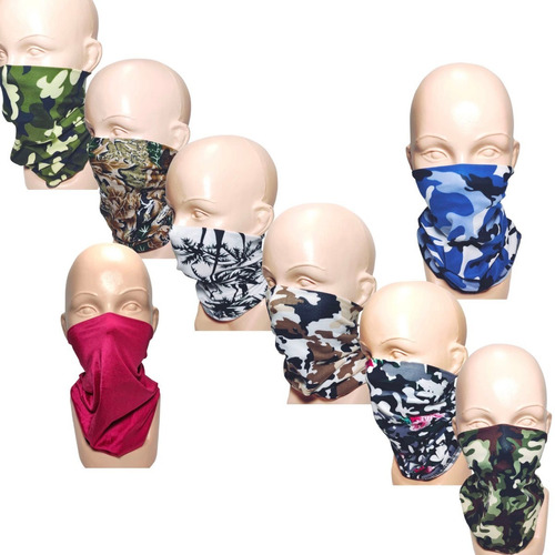 bandana mayoreo 10 pzs mascara motociclista bikers bufanda