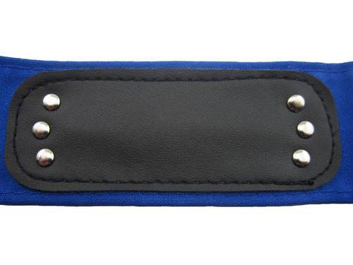 bandana naruto faixa azul aldeia da folha konoha cosplay