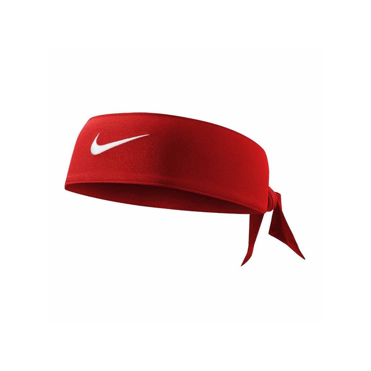 Bandana Nike Dri-fit Head Tie Vermelha - R  91 0c2d2af6bb0