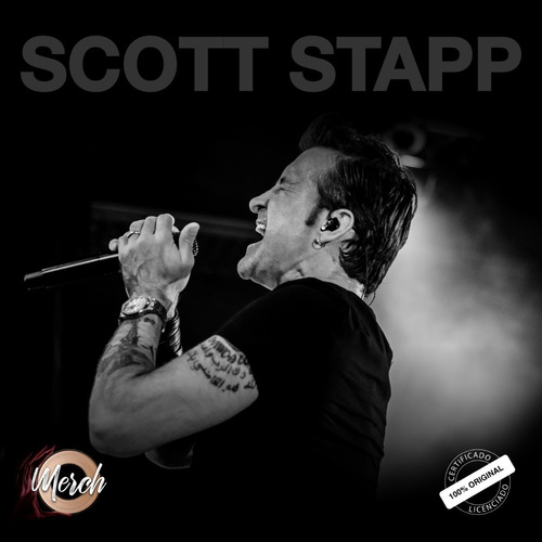 bandana oficial scott stapp purpose for pain tour 2019