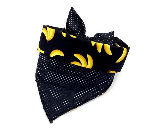 bandana pet petbone m - bananas
