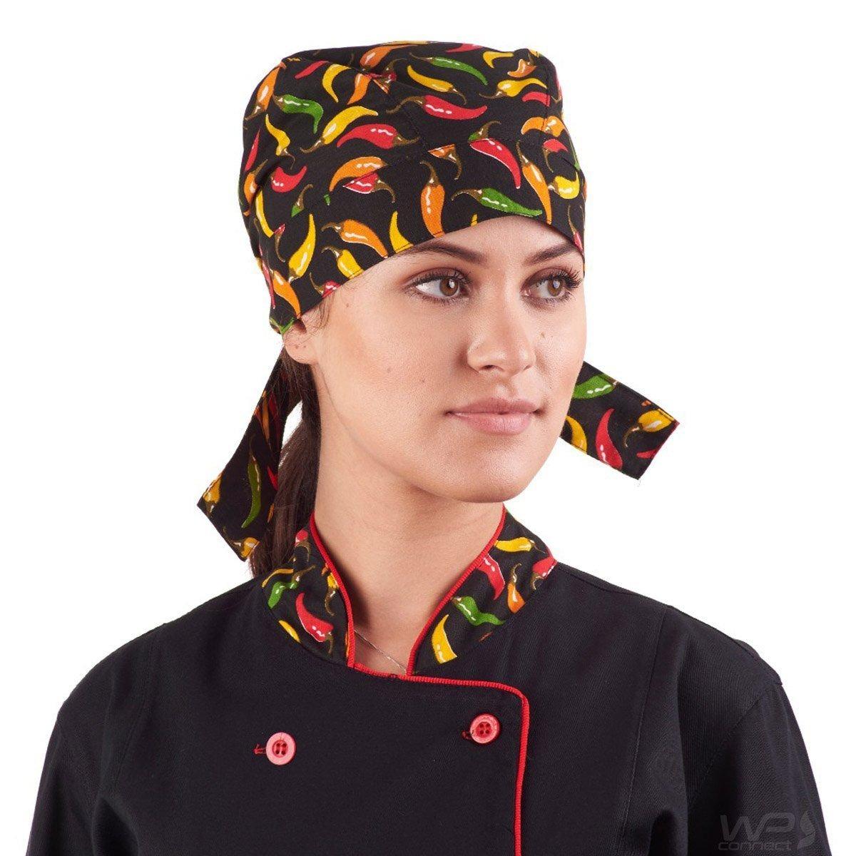 bandana pimenta barman sushi chef de cozinha restaurante. Carregando zoom. b0934a3d456