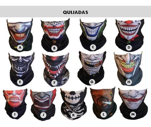 bandana quijada calavera- joker tubular bufanda mascara moto