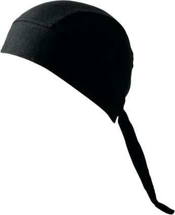 bandana schampa elástica, negro