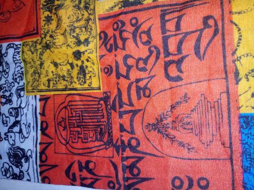 bandana tibetana outdoor (montaña,trekking,camping