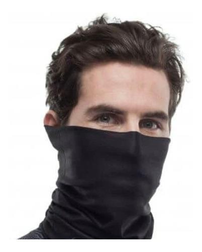 bandana tipo buff evd-x mascara moto ciclismo negro envío