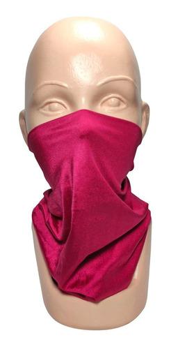 bandana tipo buff mascara moto ciclismo outdoor fucsia envío