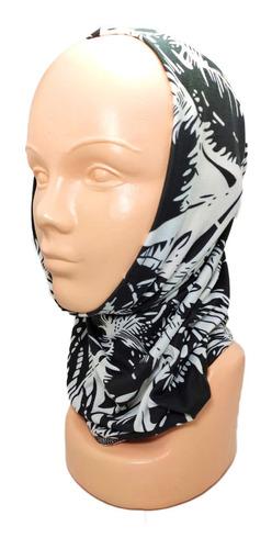 bandana tipo buff mascara moto ciclismo pesca hojas palma