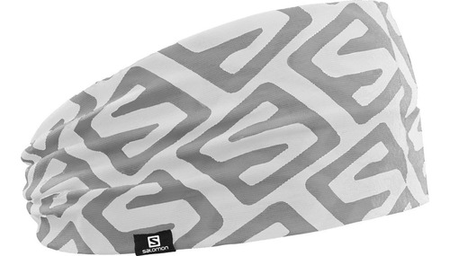 bandana unisex salomon - headband iso blanco - trail running