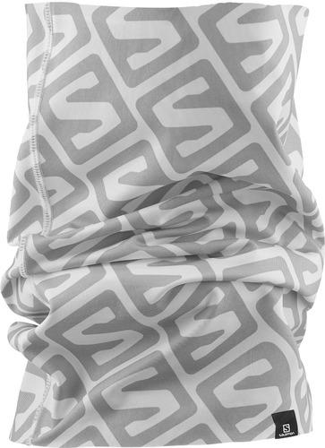 bandana unisex salomon - necktube iso ii blanco - running