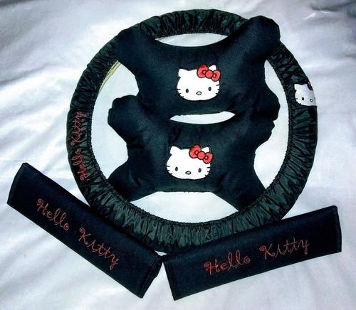 bandanas, almohada y volante de hello kitty (190sob)