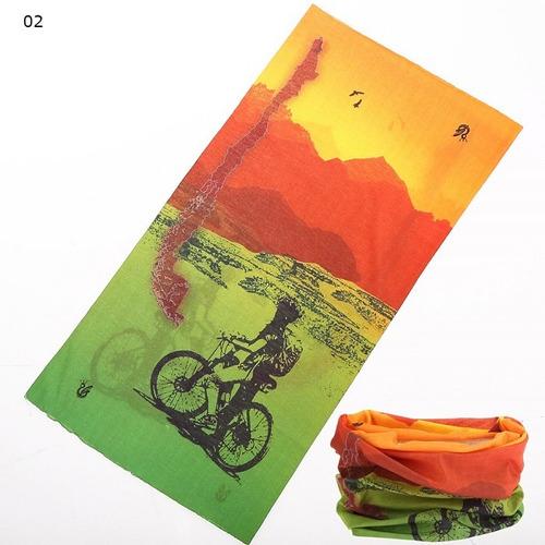 bandanas balaclavas pañoletas cuellos ciclismo set x 2 unid.