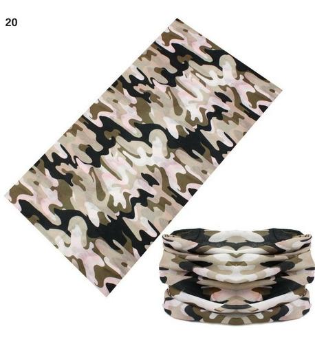 bandanas camufladas balaclavas pañoletas cuellos ciclismo