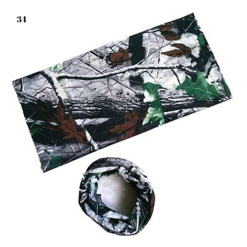 bandanas camufladas balaclavas pañoletas cuellos mtb set x 2