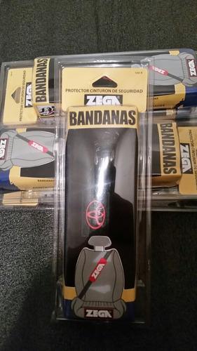 bandanas para cinturon de seguridad