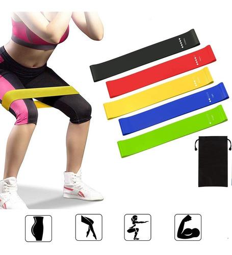 bandas de ejercicios de resistencia para el hogar o gimnasio