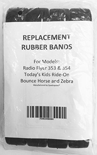 bandas de goma de reemplazo quadrapoint 4 para radio flyer /