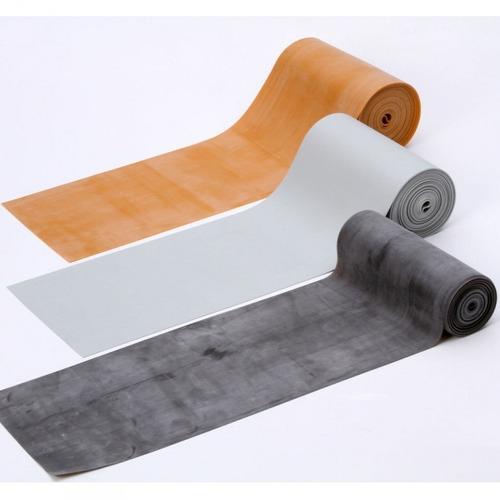 bandas de latex 12cm x 5,5m plateado care quip