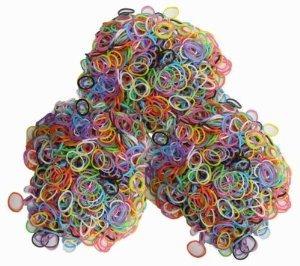 bandas de recarga de silicona sin látex - 1800pcs colores me