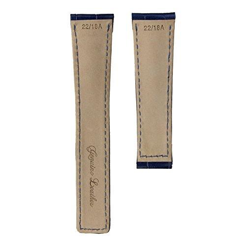 bandas de reloj,clásica del cuero genuino de la venda de...