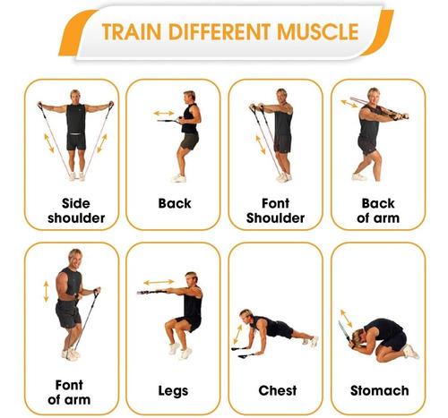 bandas de resistencia de alta velocidad bandas de ejercicio