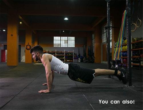 bandas de resistencia para ejercicios unisex 11 pzs.
