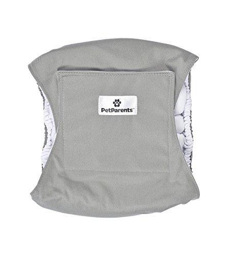 bandas del vientre del perro lavable (3pack) de soporte dur