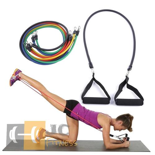 bandas elasticas 3 ligas- resistencia- fitness