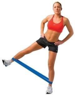 bandas elasticas circulares para tapout, yoga, pilates, etc.