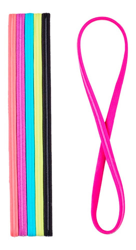 bandas elasticas delgadas antiderrapantes scunci 32708mx