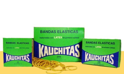 bandas elasticas / gomitas caja 100 gr kauchita tiendas hipo