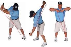bandas elásticas para golf