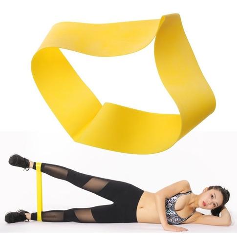 bandas elásticas planas cerradas  kit  x 3 uds. ejercicio