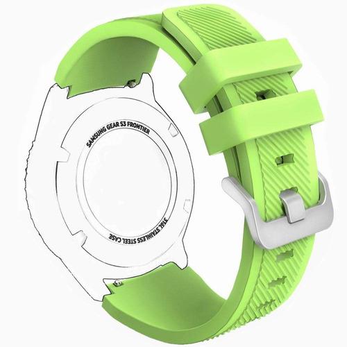 bandas engranaje s3, correas reloj silicona y pulsera deport