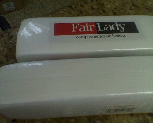 bandas para depilar cuerpo o cejas fair lady