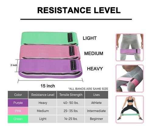 bandas para ejercicio de resistencia de cadera besoner zld