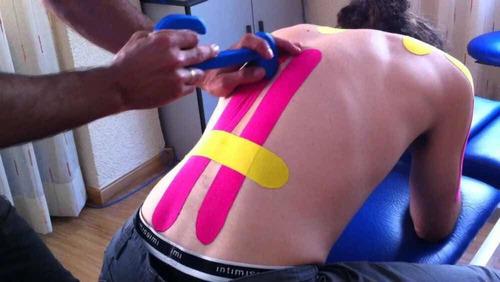 bandas para lesión kinesiotape