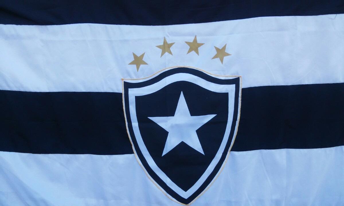 Bandeira Botafogo Do Rio De Janeiro - R$ 120,00 em Mercado Livre
