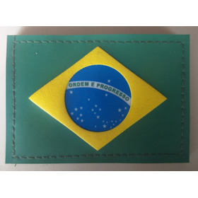 Bandeira Brasil Emborrachada Farda Exército