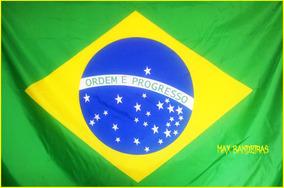e18cbb5cc Mega Bandeira Oficial Brasi! 1,60x1,00! Gigante! no Mercado Livre Brasil