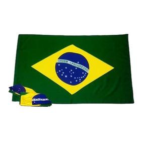 Bandeira Brasil Oficial Grande 105 Cm X 145cm Envio Imediato