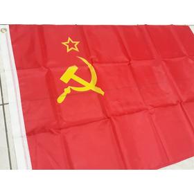Bandeira Comunista União Soviética Urss Cccp Lenin Rússia