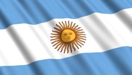 Bandeira Da Argentina Cetim 150m X 90cm Copa Nações