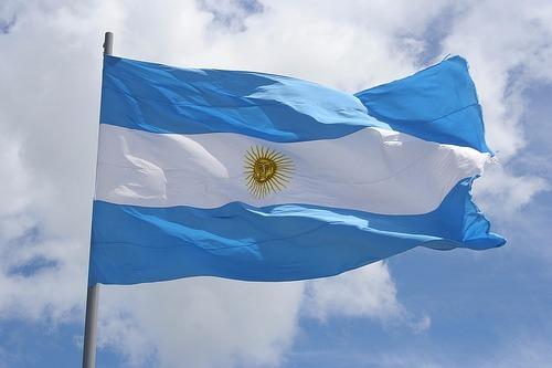 Bandeira Da Argentina Dupla Face 090 X 150