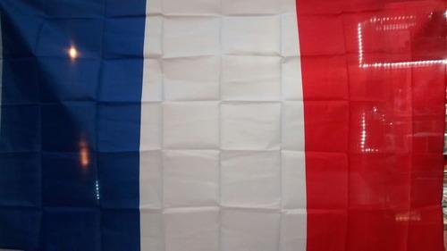 bandeira da frança 1,5 metros x 90 cm