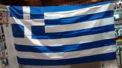 bandeira da grécia 1,5 metros x 90 cm